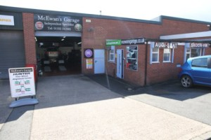 McEwans Garage Derby